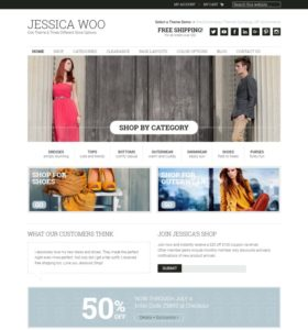 Jessica-WordPress ecommerce theme