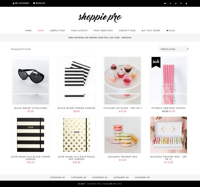 shoppie pro genesis ecommerce theme